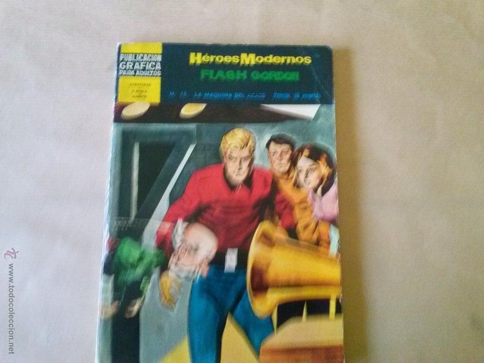 FLASH GORDON Nº 15 - HEROES MODERNOS - DOLAR (Tebeos y Comics - Dólar)