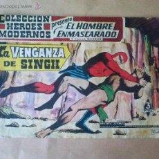 Tebeos: HOMBRE ENMASCARADO Y FLASH GORDON Nº 02 -DOLAR- HEROES MODERNOS - SERIE 0. Lote 43758823