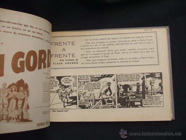 Tebeos: FLASH GORDON - 2 TOMOS ENCUADERNADOS - NUMEROS 1 A 45 Y 47 A 52 - DOLAR - - Foto 22 - 40083273