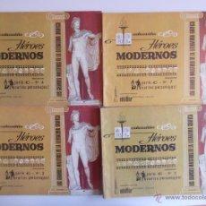Tebeos: LOTE HEROES MODERNOS-SERIE C-VARIOS PERSONAJES-5 EJEMPLARES -DOLAR. Lote 44326192