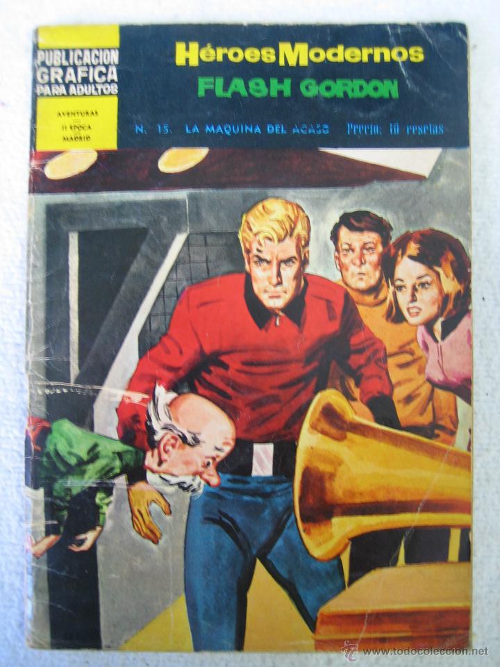 FLASH GORDON. ED DÓLAR 1960. N 15 (Tebeos y Comics - Dólar)