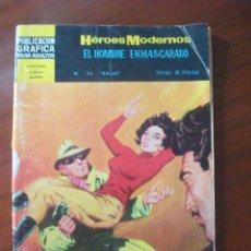 Tebeos: HEROES MODERNOS EL HOMBRE ENMASCARADO Nº 34 EDITORIAL DOLAR. Lote 45509576
