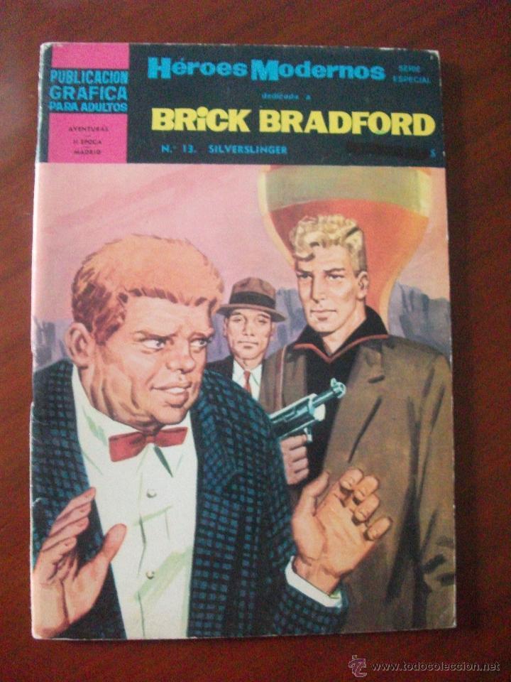 HEROES MODERNOS BRICK BRADFORD Nº 13 EDITORIAL DOLAR (Tebeos y Comics - Dólar)