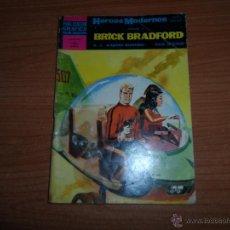 Tebeos: HEROES MODERNOS Nº 2 II EPOCA BRICK BRADFORD EDITORIAL DOLAR . Lote 45843188