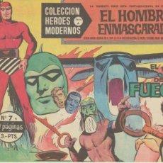 BDs: EL HOMBRE ENMASCARADO. SERIE A Nº 7. HÉROES MODERNOS - DÓLAR. Lote 46925953
