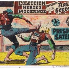 Tebeos: COLECCION HEROES MODERNOS. FLASH GORDON. Nº 56. PRISIÓN SATÉLITE. EDIT. DOLAR 1958 (C/A26). Lote 47052275