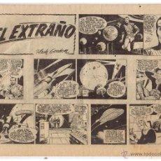 Tebeos: COLECCION HEROES MODERNOS. FLASH GORDON. Nº 12. EL EXTRAÑO. EDIT. DOLAR 1958 (C/A26). Lote 47052345