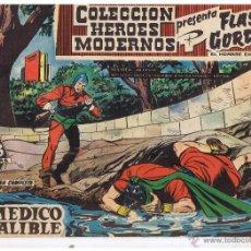 Tebeos: COLECCION HEROES MODERNOS. FLASH GORDON. Nº 11. EL MÉDICO INFALIBLE. EDIT. DOLAR 1958 (C/A26). Lote 47052372