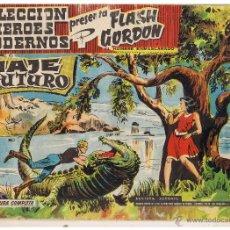 Tebeos: COLECCION HEROES MODERNOS. FLASH GORDON. Nº 5. VIAJE AL FUTURO. DOLAR 1958 (C/A26). Lote 47052418
