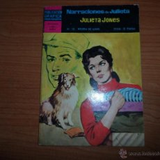 Tebeos: NOVELAS GRAFICAS JULIETA JONES Nº 16 EDITORIAL DOLAR . Lote 47402324