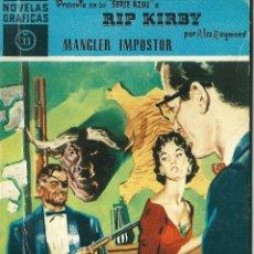 Tebeos: RIP KIRBY Nº 33-SERIE AZUL-MANGLER IMPOSTOR- AÑO 1959. Lote 47520430