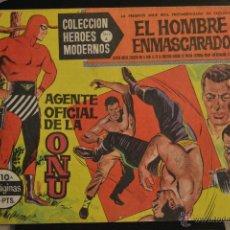 Giornalini: EL HOMBRE ENMASCARADO Nº 10. COLECCION HEROES MODERNOS SERIE A.. Lote 48167535