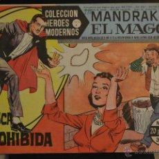 Tebeos: MANDRAKE EL MAGO, Nº 11. COLECCION HEROES MODERNOS SERIE C. LITERACOMIC.. Lote 48260861