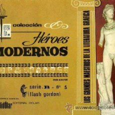 Tebeos: LOTE 6 COMICS FLASH GORDON (DOLAR, 1970) -BIBLIOTECA ETERNA SERIE B. Lote 48873512