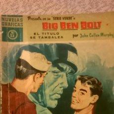 Tebeos: BIG BEN BOLT - EL TITULO SE TAMBALEA, POR JOHN CULLEN MURPHY - Nº 52 - ESPAÑA - 1959. Lote 48911505
