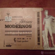 Tebeos: FLASH GORDON COLECCIÓN HEROES MODERNOS SERIE B EDITORIAL DOLAR NÚMERO 13. Lote 89864962
