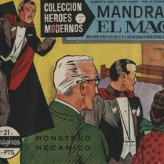 Tebeos: MANDRAKE EL MAGO. HÉROES MODERNOS SERIE C. Nº 21. Lote 18455023
