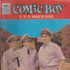 Tebeos: COMIC COLECCION COMIC-BOY Nº 22 . Lote 50180485