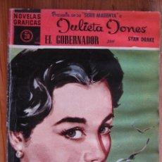 Tebeos: NOVELAS GRAFICAS - SERIE MAGENTA - JULIETA JONES Nº20. Lote 50266624