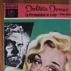 Tebeos: NOVELAS GRAFICAS - SERIE MAGENTA - JULIETA JONES Nº12. Lote 50266642