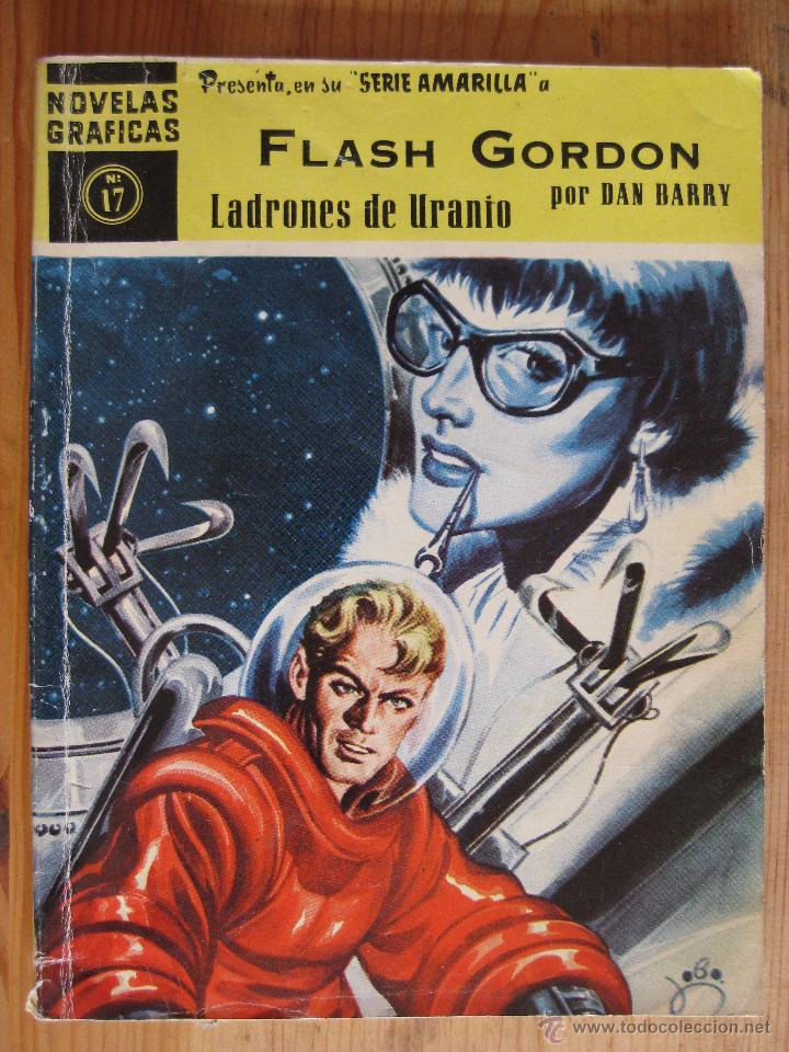NOVELAS GRAFICAS - SERIE AMARILLA - FLASH GORDON Nº17 (Tebeos y Comics - Dólar)