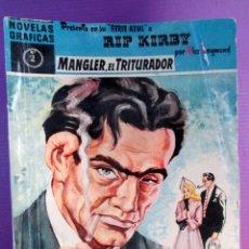 Tebeos: LOTE DE 15 RIP KIRBY - SERIE AZUL - EDITORIAL DÓLAR - 1958. Lote 50305412