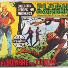 Tebeos: FLASH GORDON Nº 9 - COLECCIÓN HÉROES MODERNOS , SERIE B - ED. DÓLAR. Lote 50543109