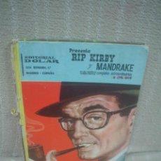 Tebeos: RIP KIRBY Y MANDRAKE. DOS AVENTURAS COMPLETAS. COLOR, DOLAR. Lote 51737686