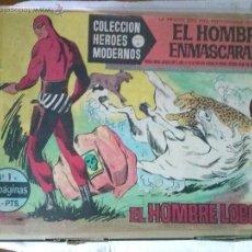 Tebeos: HEROES MODERNOS , SERIE A . DOLAR - EL HOMBRE ENMASCARADO - 75 NºS , GA-. Lote 51926208