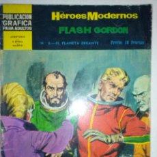 Tebeos: HÉROES MODERNOS-II ÉPOCA- Nº 8 -FLASH GORDON-EL PLANETA ERRANTE-1966-RARO-MUY ESCASO-BUENO-4719. Lote 51931233