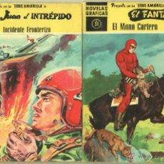 Tebeos: NOVELAS GRAFICAS SERIE AMARILLA DOLAR 1959 - 47 EJEMPLARES, BUCK ROGERS-EL FANTASMA-JUAN EL INTREPID. Lote 53473457
