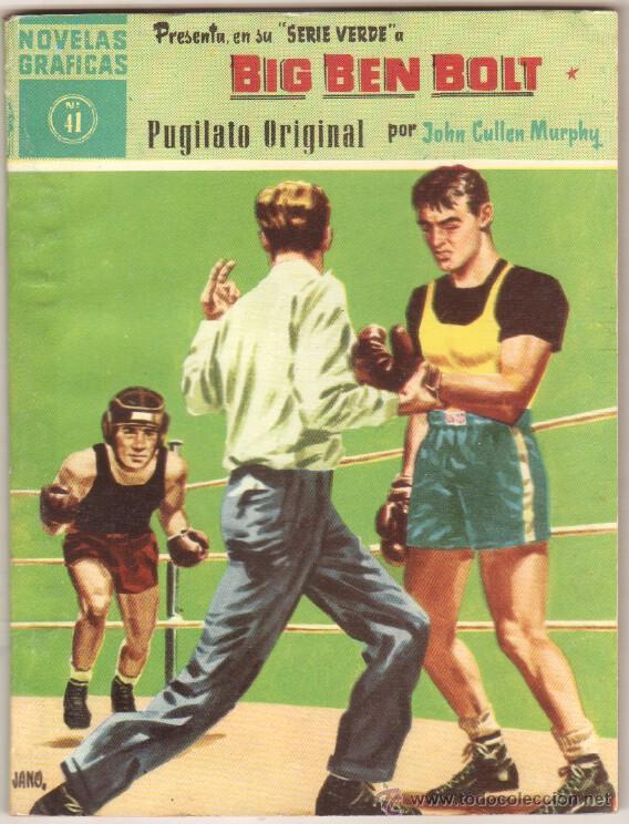 BIG BEN BOLT EDI. DOLAR 1958 - COMPLETADA 42 NºS VER PORTADAS (Tebeos y Comics - Dólar)