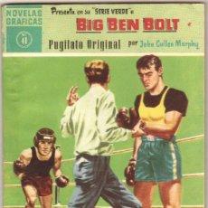 Tebeos: BIG BEN BOLT EDI. DOLAR 1958 - COMPLETADA 42 NºS VER PORTADAS. Lote 54435783
