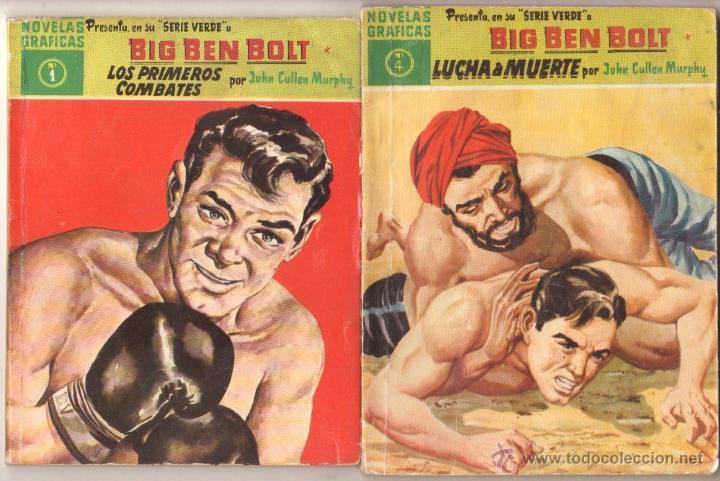 Tebeos: BIG BEN BOLT EDI. DOLAR 1958 - COMPLETADA 42 nºs VER PORTADAS - Foto 3 - 54435783