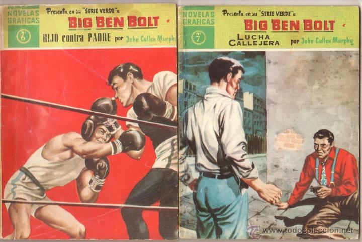 Tebeos: BIG BEN BOLT EDI. DOLAR 1958 - COMPLETADA 42 nºs VER PORTADAS - Foto 4 - 54435783