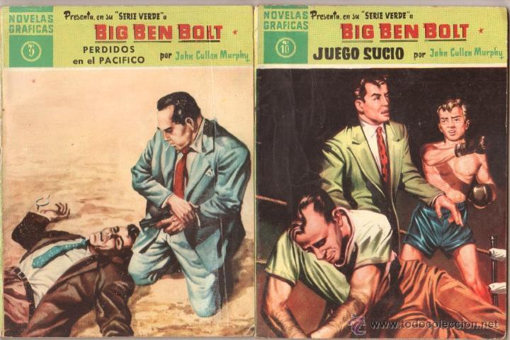 Tebeos: BIG BEN BOLT EDI. DOLAR 1958 - COMPLETADA 42 nºs VER PORTADAS - Foto 5 - 54435783