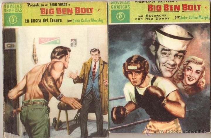 Tebeos: BIG BEN BOLT EDI. DOLAR 1958 - COMPLETADA 42 nºs VER PORTADAS - Foto 6 - 54435783