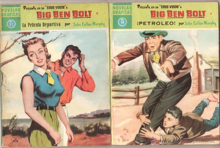 Tebeos: BIG BEN BOLT EDI. DOLAR 1958 - COMPLETADA 42 nºs VER PORTADAS - Foto 7 - 54435783