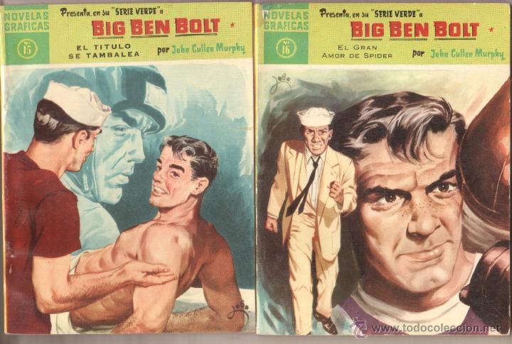 Tebeos: BIG BEN BOLT EDI. DOLAR 1958 - COMPLETADA 42 nºs VER PORTADAS - Foto 8 - 54435783