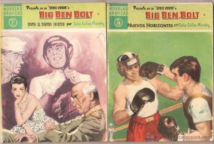 Tebeos: BIG BEN BOLT EDI. DOLAR 1958 - COMPLETADA 42 nºs VER PORTADAS - Foto 9 - 54435783
