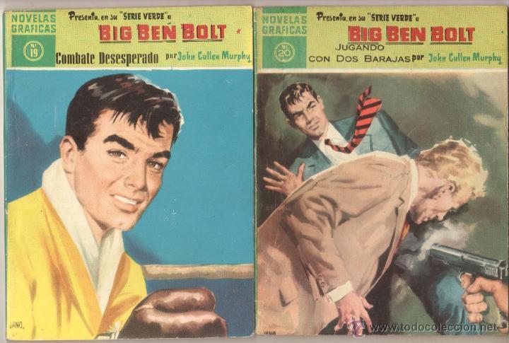 Tebeos: BIG BEN BOLT EDI. DOLAR 1958 - COMPLETADA 42 nºs VER PORTADAS - Foto 10 - 54435783