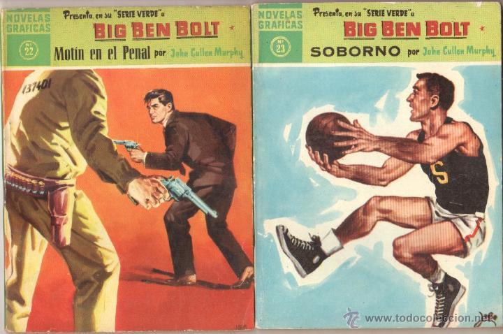 Tebeos: BIG BEN BOLT EDI. DOLAR 1958 - COMPLETADA 42 nºs VER PORTADAS - Foto 11 - 54435783