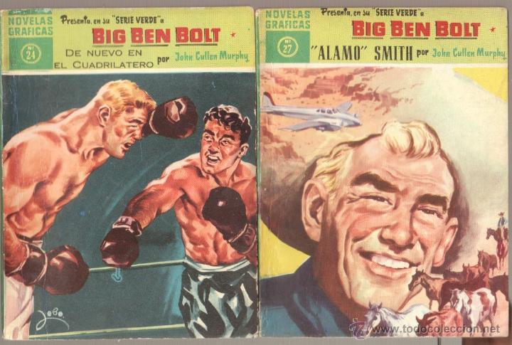 Tebeos: BIG BEN BOLT EDI. DOLAR 1958 - COMPLETADA 42 nºs VER PORTADAS - Foto 12 - 54435783