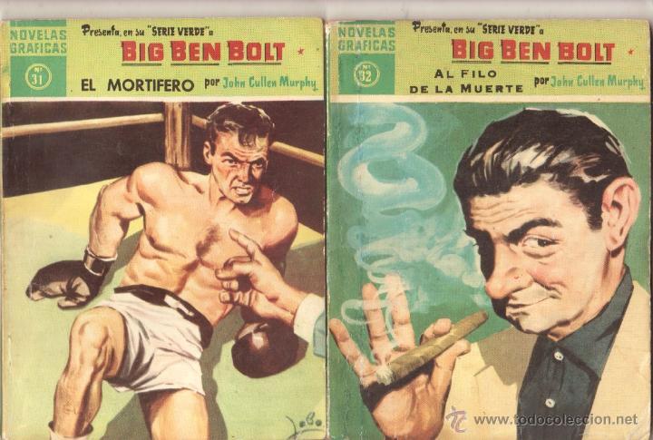 Tebeos: BIG BEN BOLT EDI. DOLAR 1958 - COMPLETADA 42 nºs VER PORTADAS - Foto 13 - 54435783