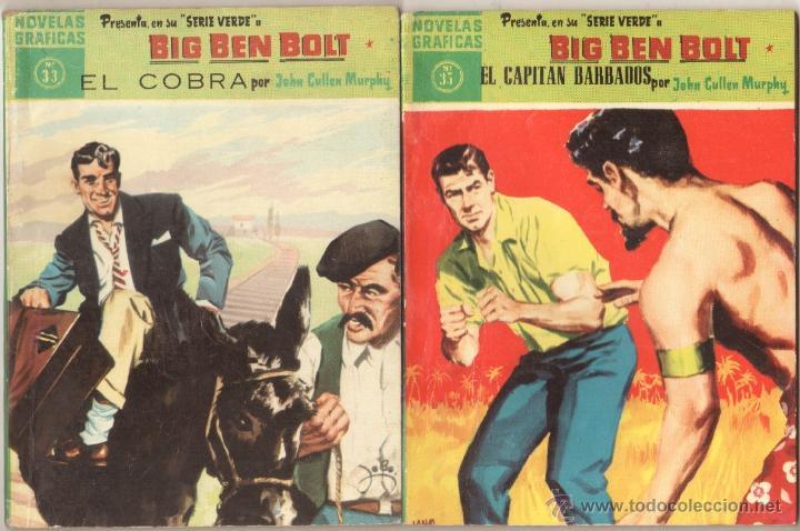 Tebeos: BIG BEN BOLT EDI. DOLAR 1958 - COMPLETADA 42 nºs VER PORTADAS - Foto 14 - 54435783