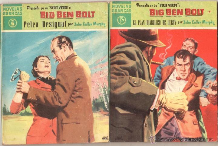 Tebeos: BIG BEN BOLT EDI. DOLAR 1958 - COMPLETADA 42 nºs VER PORTADAS - Foto 15 - 54435783