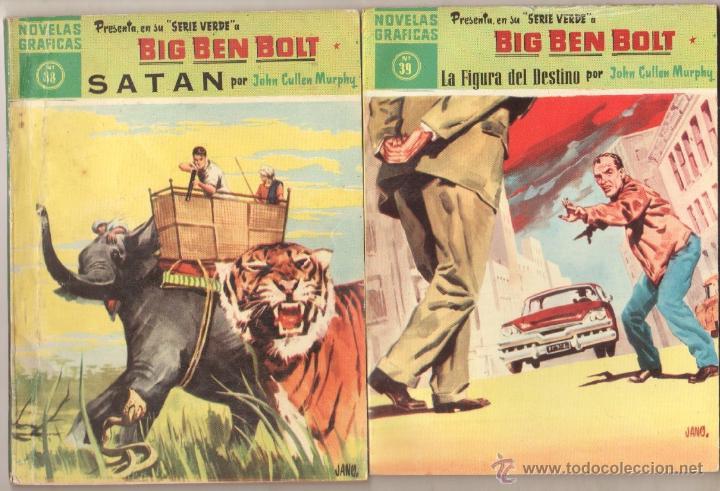 Tebeos: BIG BEN BOLT EDI. DOLAR 1958 - COMPLETADA 42 nºs VER PORTADAS - Foto 16 - 54435783