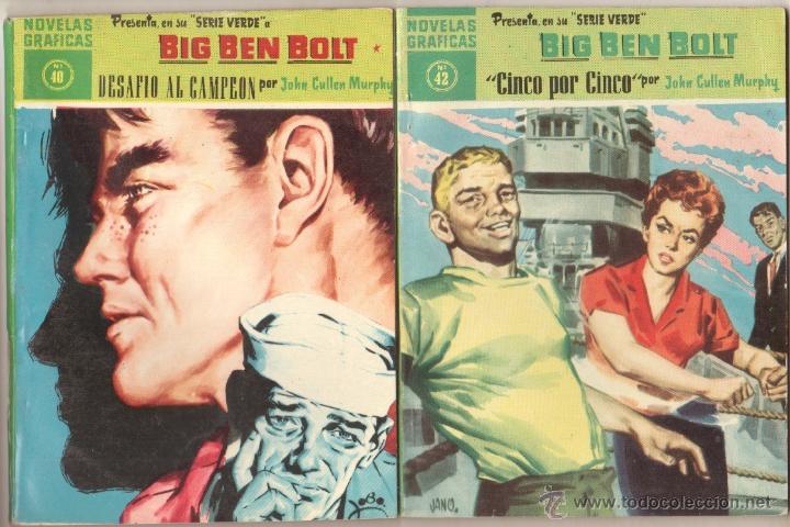Tebeos: BIG BEN BOLT EDI. DOLAR 1958 - COMPLETADA 42 nºs VER PORTADAS - Foto 17 - 54435783
