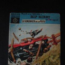 Tebeos: RIP KIRBY: LA AMENAZA DE LA FOTO, POR ALEX RAYMOND. SERIE AZUL, NÚMERO 3. 1959. . Lote 53954006