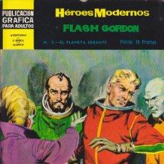 Tebeos: COMIC COLECCION HEROES MODERNOS FLASH GORDON NOVELA GRAFICA Nº 8. Lote 53976637